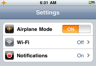 Post image for Work Around the iPod iOS 4.0 Battery Drain Issue