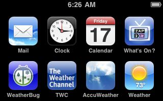 iPod Screenshot